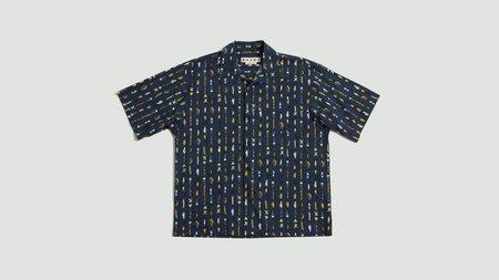 Marni Fishing Print Shirt - Blue