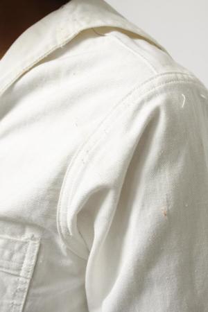 VINTAGE 30'S SAILOR TOP - white
