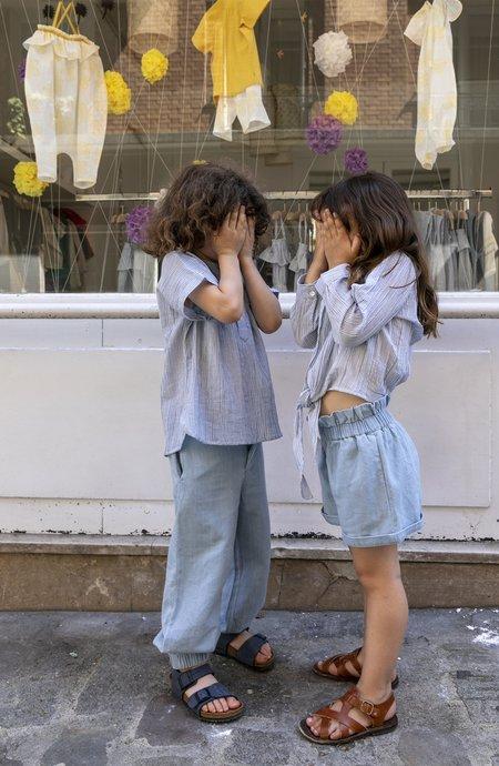 KIDS Ketiketa Audrey Blouse - Mini Gingham