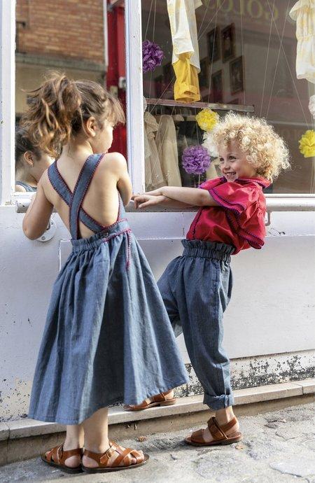 KIDS Ketiketa Eva Trousers - Railroad Stripe