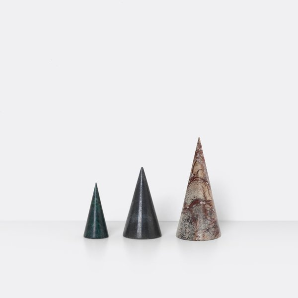 Ferm Living set of 3 Marble trees