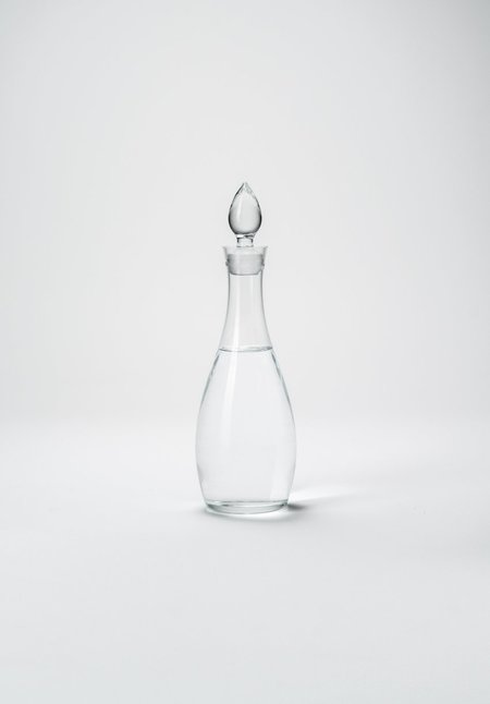 Vintage Fourth Simple Glass Decanter