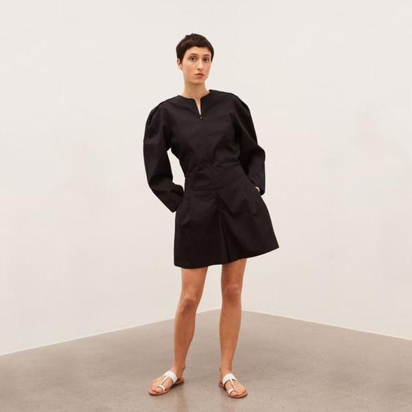 Polder Agathe Long Sleeved Romper - Black