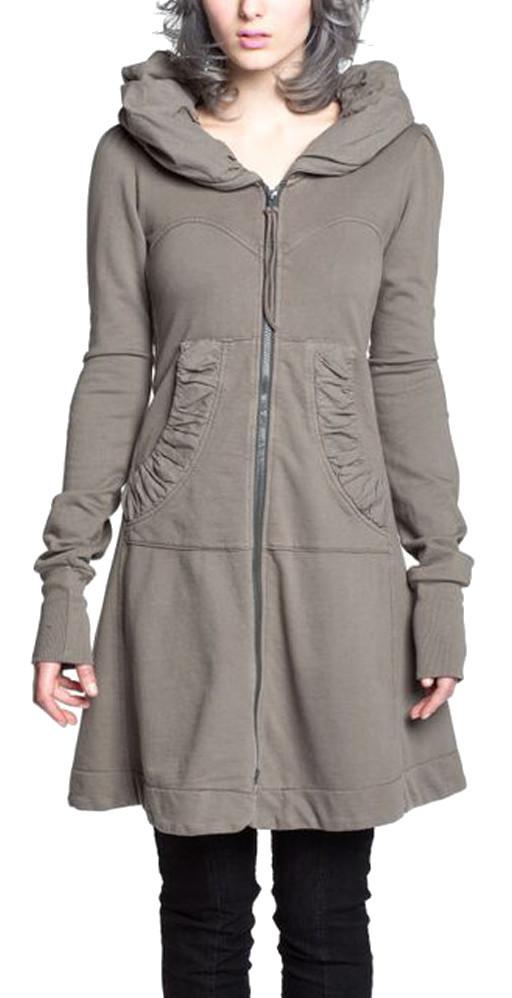 Prairie Underground Long Cloak Hoodie