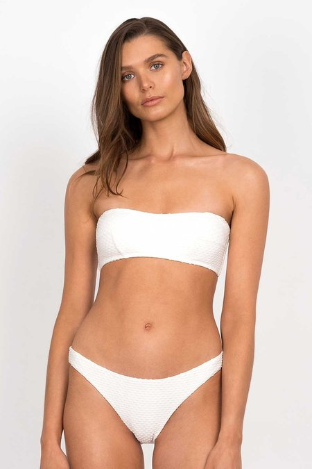 PEONY Sonnet Bandeau Top - White