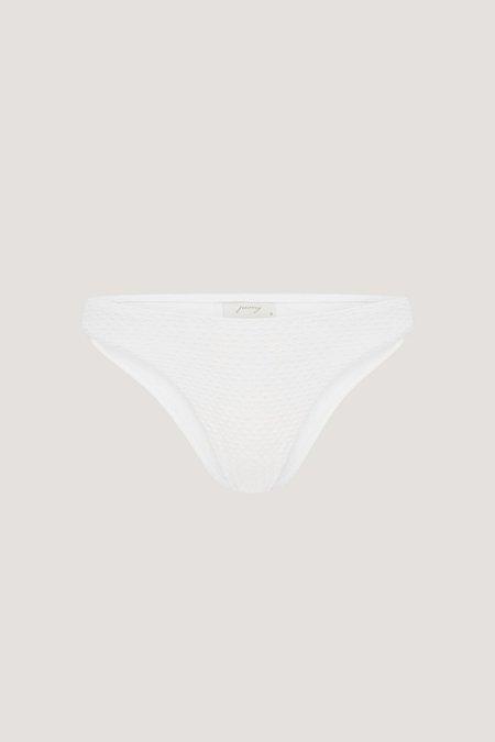 PEONY Sonnet Bikini Bottom - White