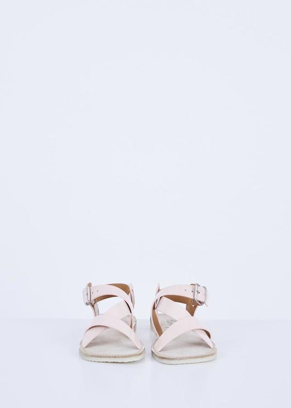 Flamingos Brenda Patent Sandal - Nude