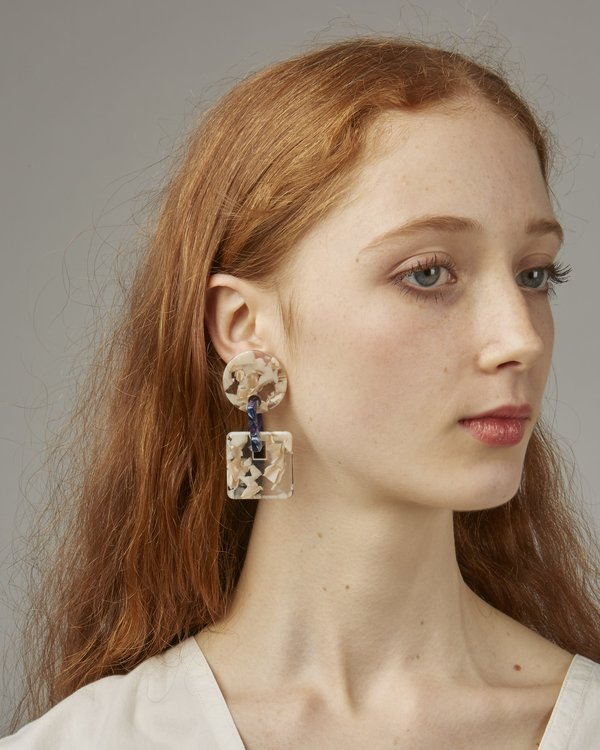 Valet Savannah Earrings - Marble
