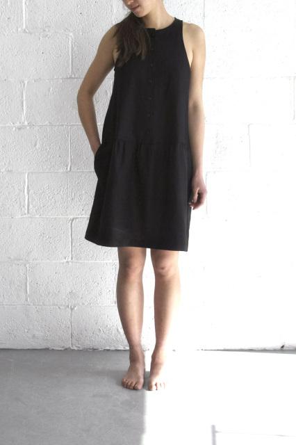 Ursa Minor Clare Dress Black