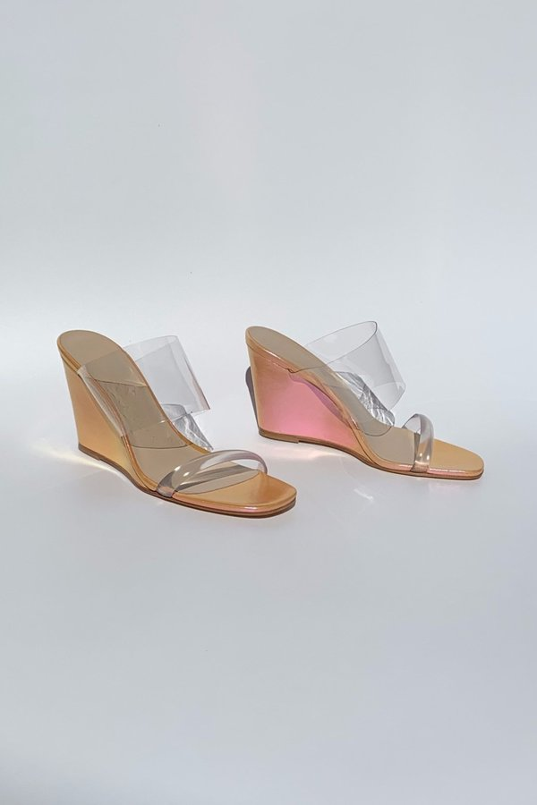 Maryam Nassir Zadeh Olympia Wedge - Sunset