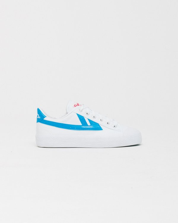 Unisex Warrior WB1 Shoes - White/Blue