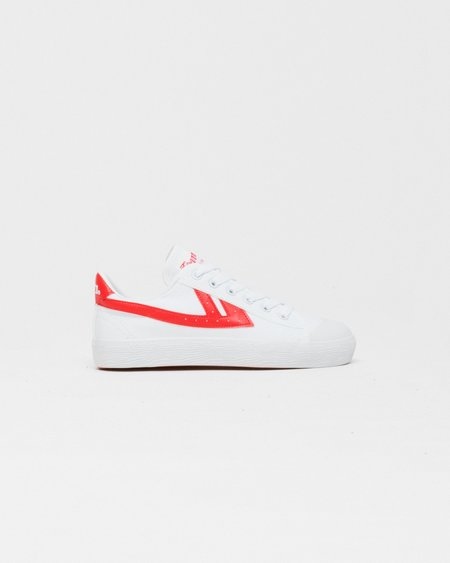 Warrior WB1 Shoes - White/Red