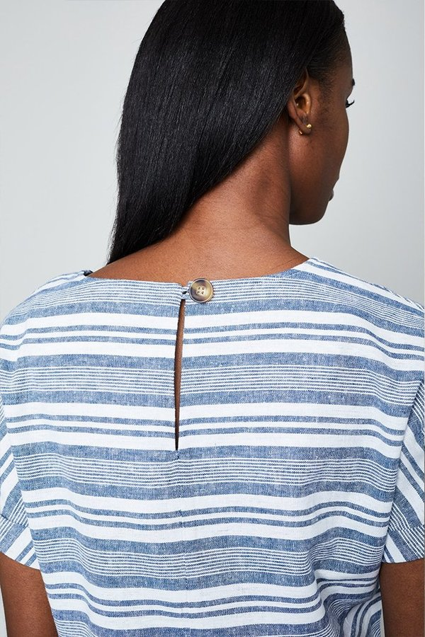 Native Youth The Shemiah Crop - White/Blue