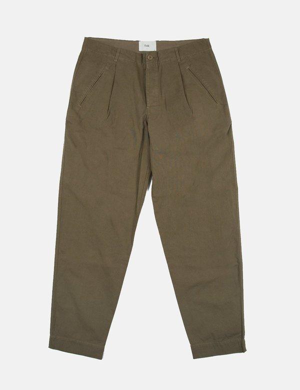 Folk The Assembly Trousers - Khaki