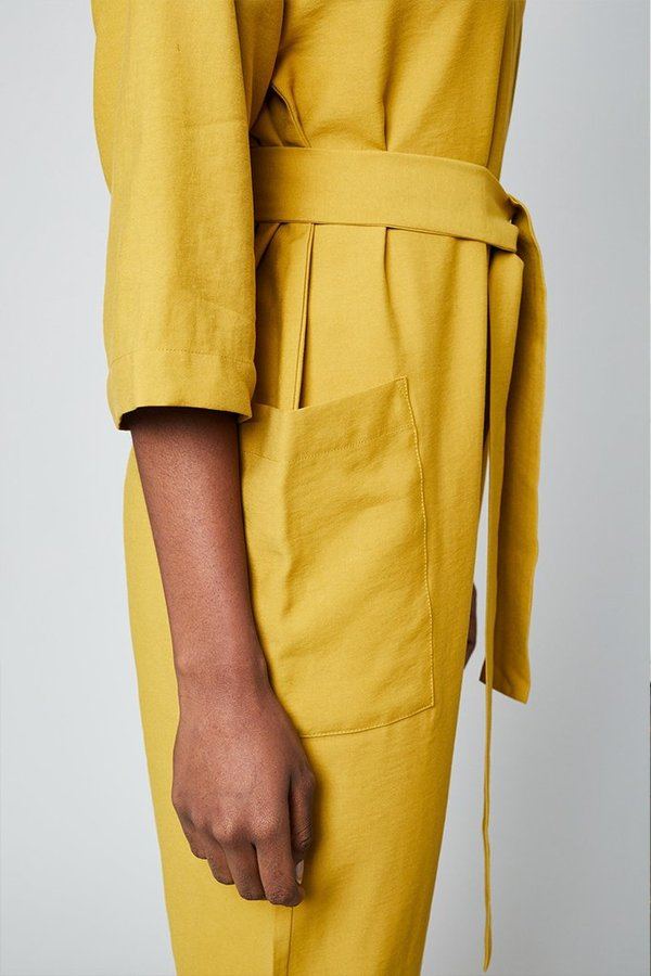 Native Youth The Rosie Jumpsuit - Mustard
