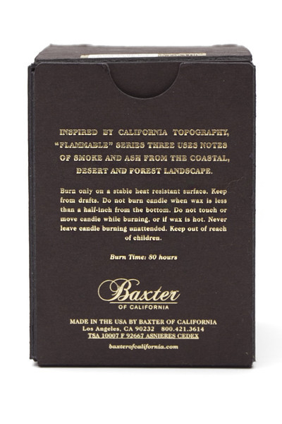 Baxter Sweet Ash Candle