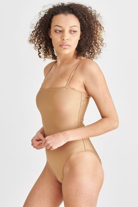 Static Swimwear AVALON ONE PIECE - CHAMPAGNE