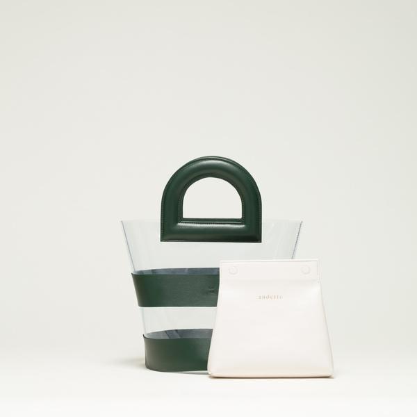 AUDETTE ACAPULCO BAG - FIR GREEN