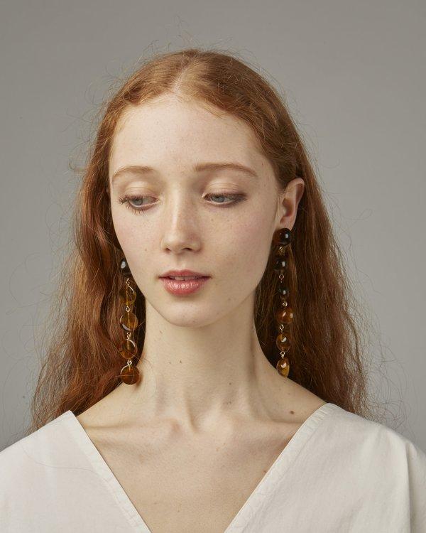 Valet Tallulah Earrings - Amber
