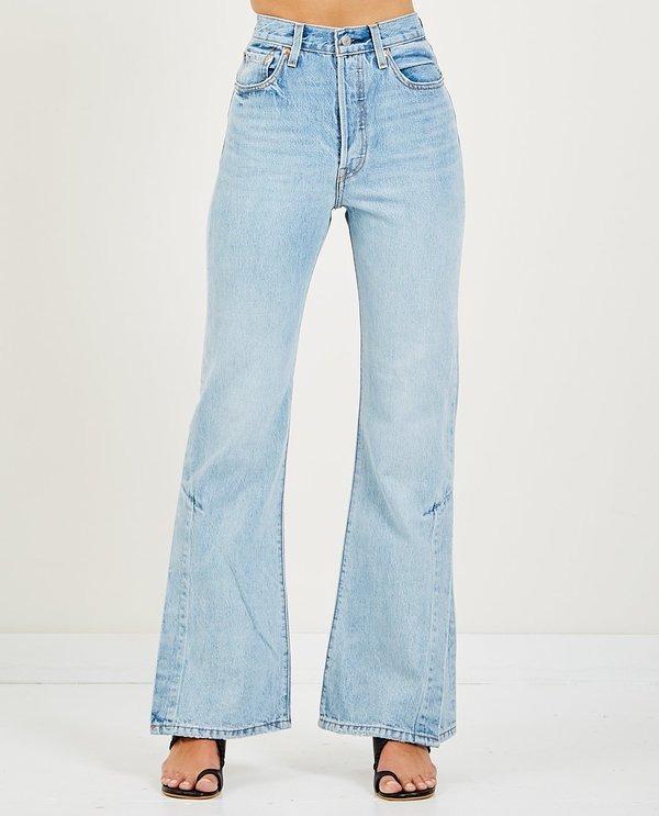c40a82515732a7 Levi's RIBCAGE SPLIT FLARE - DAZED AND CONFUSED | Garmentory