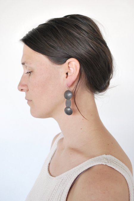 M. Hisae Yume Earrings - Silver