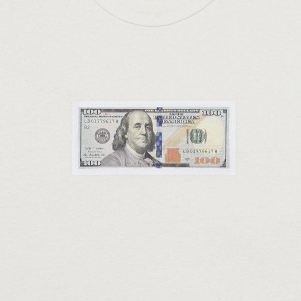 WHOLE $100 tshirt - off white
