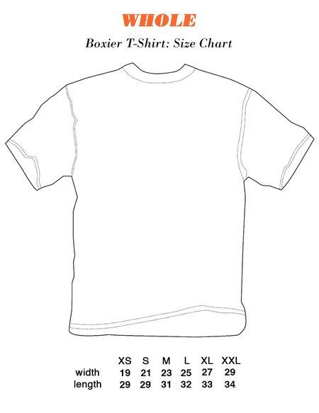 Unisex WHOLE Single Piercing T-Shirt - Off white