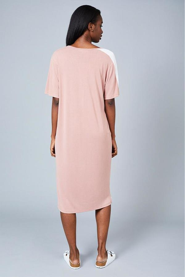 Native Youth The Sade Dress - Dusty Pink