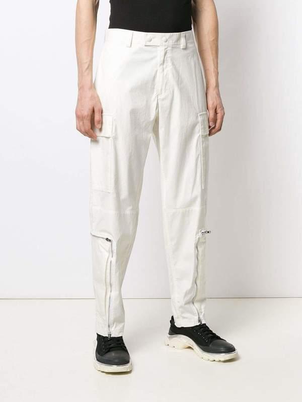 Helmut Lang Aviator Pants - Off White