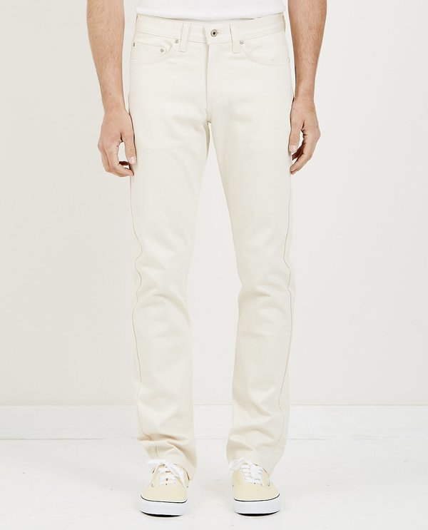 Naked & Famous Weird Guy Denim Jean - Natural Seed