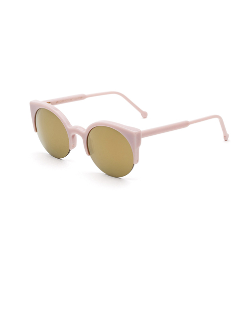 RetroSuperFuture Lucia Sunglasses in Pinky Pussycat