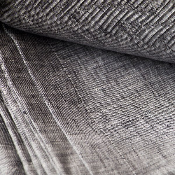 Objective Linen Tablecloth - Gray