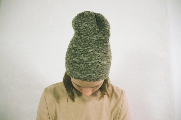 Han Starnes Wyoming Handspun Hat - Gray on Garmentory