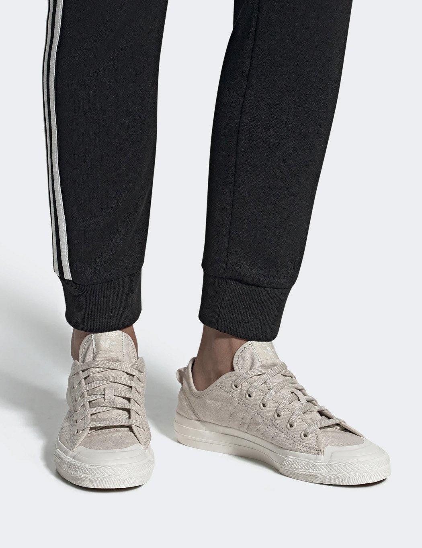 Adidas Nizza Canvas Trainers - Clear