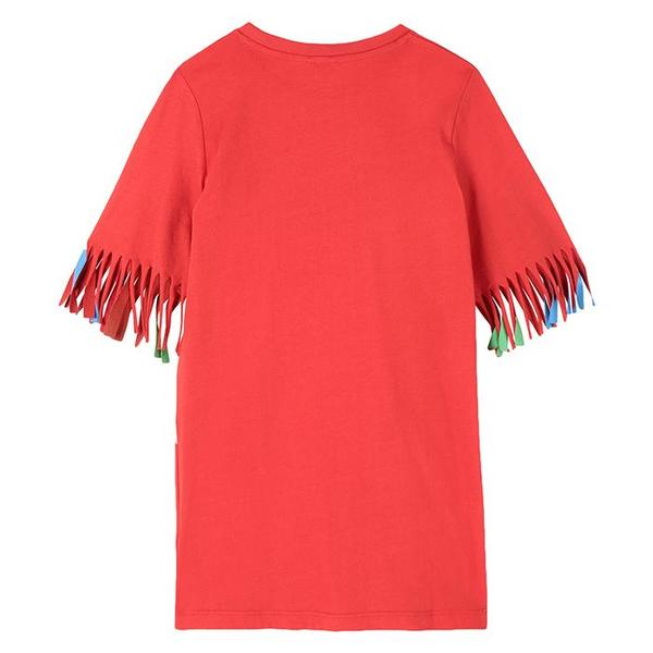 Stella McCartney Child Dress With Toucan Print - Red