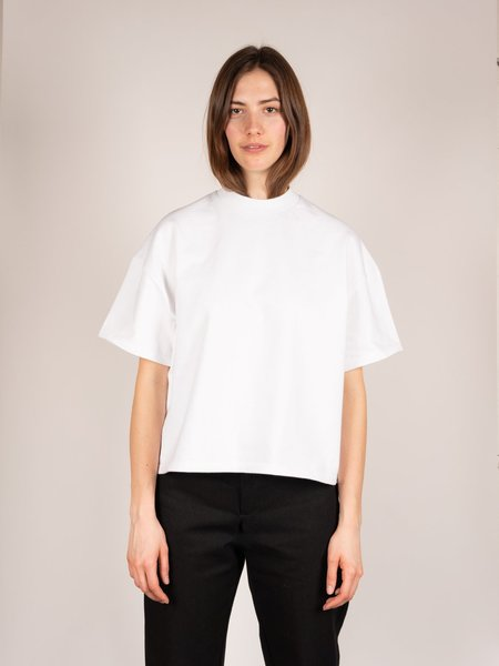 In Objects We Trust Square T-shirt - White