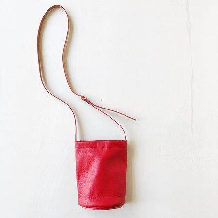 Julia Gabriel Studio Semi Mini Crossbody Bag - Cherry Red