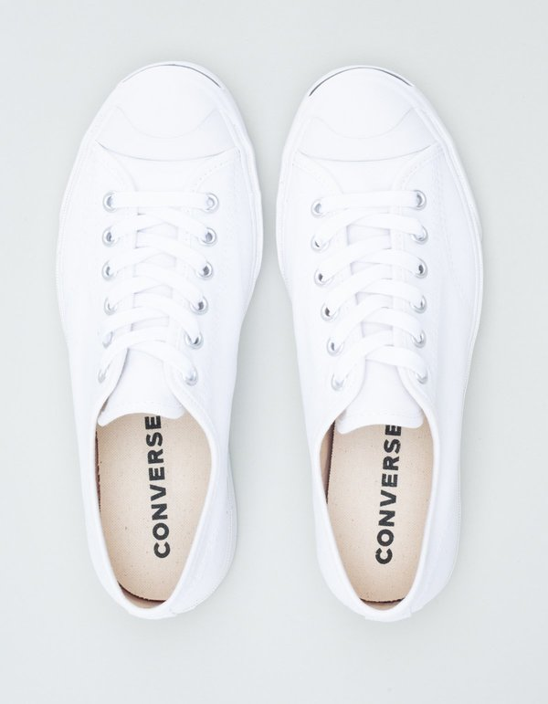 Converse Jack Purcell Classic Low Top Sneakers - White
