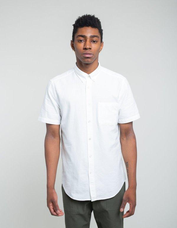 b2ddad5c7883 Portuguese Flannel Belavista Short Sleeve Shirt - Off White