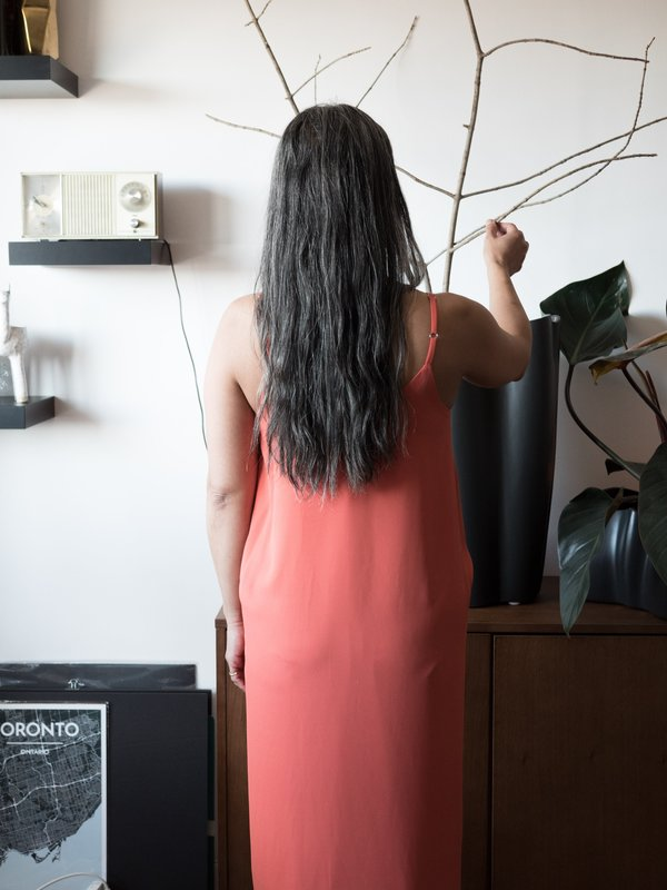 Valérie Dumaine Nia Dress - Coral