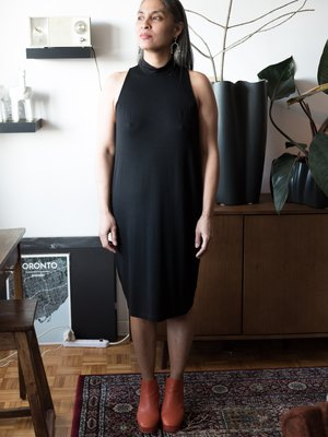 Valérie Dumaine Tashelle Dress - Black