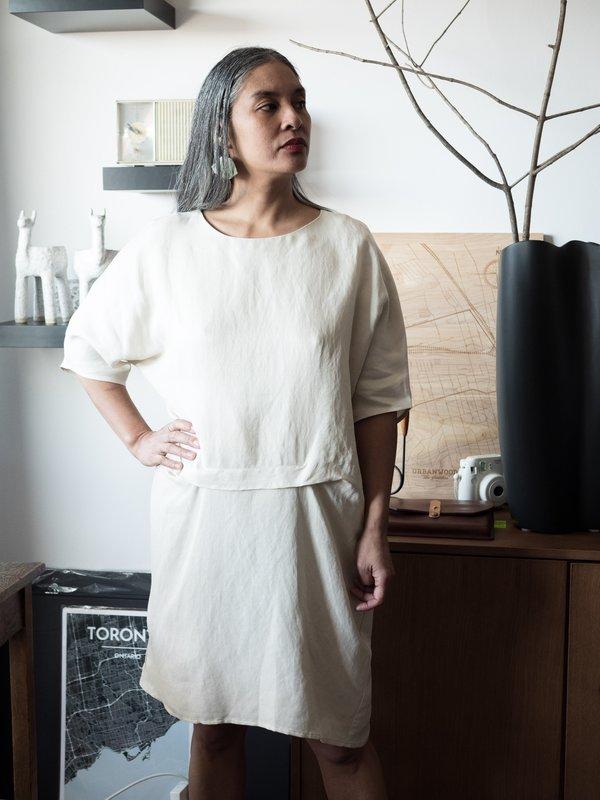 Valérie Dumaine Tiara Dress - Ivory