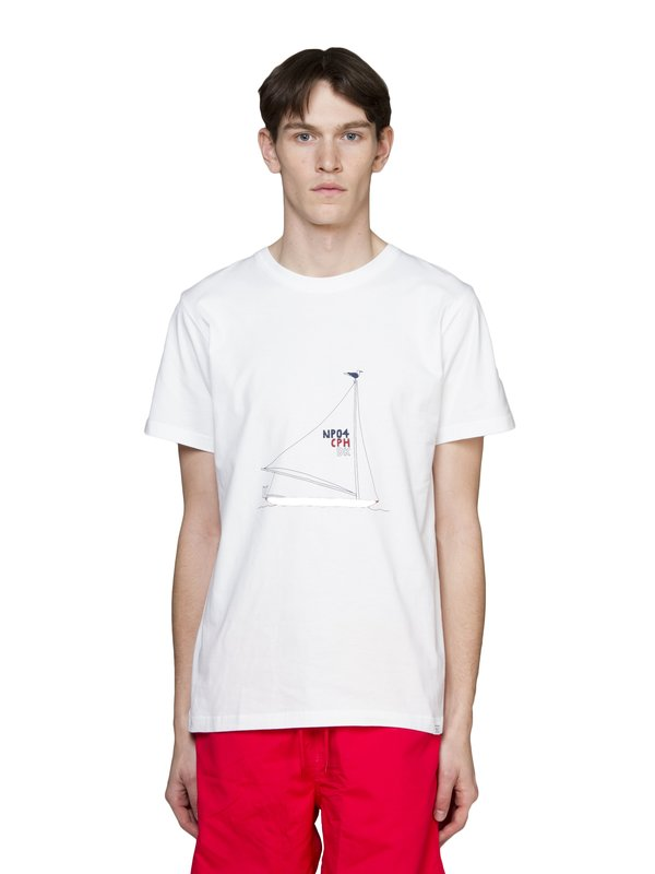 Norse Projects Daniel Frost Boat T-Shirt - White