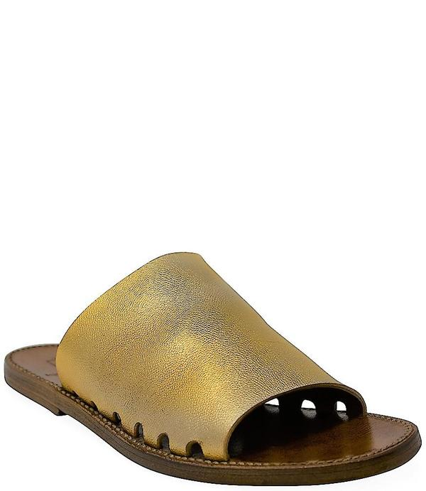 Silvano Sassetti Oro Leather Sandals