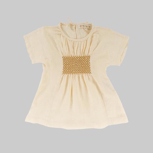 KIDS Omibia Bella Dress - Cream