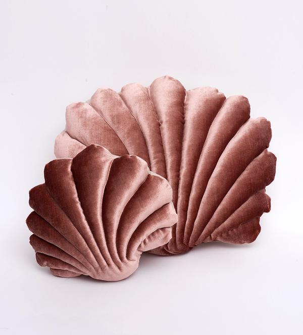Tamar Morgendorff Small Velvet Shell Pillow