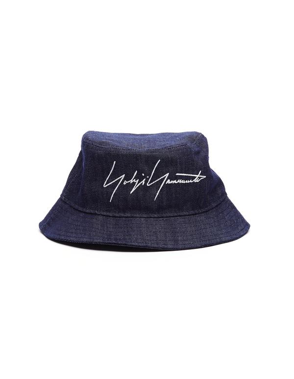 c1774e471b7d1 Yohji Yamamoto Denim New Era Hat - Blue