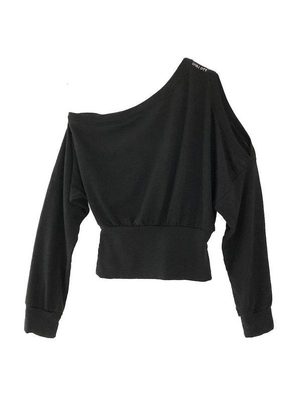 Oori Ott Ida Mono Shoulder Pullover - White