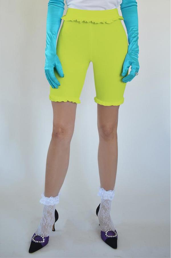 Oori Ott Lucky Double Layer Frill Shorts