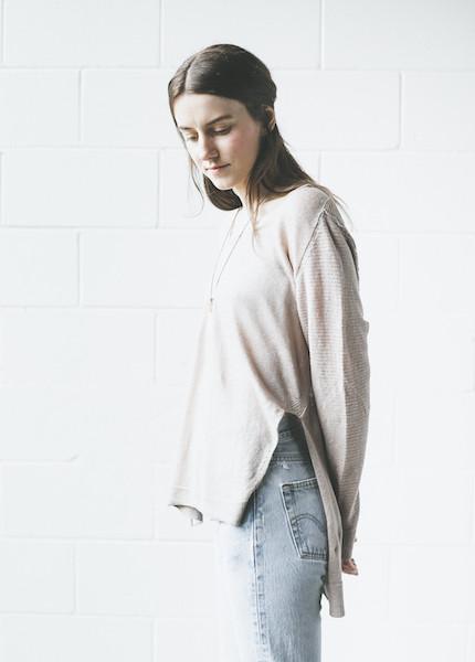 Line Knitwear - Bobbi in Stone